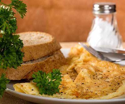 omleta cu ceapa