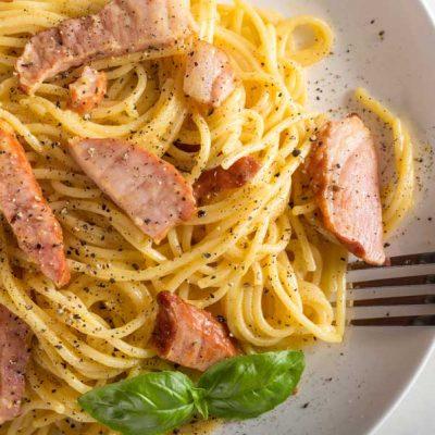 spaghete carbonara